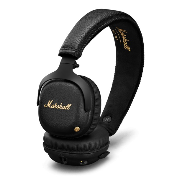 Marshall - Mid A.N.C. - Black - Bluetooth Wireless Headphones - Iconic Classic Premium High Quality Headphones
