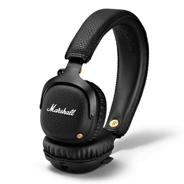 Marshall - Mid Bluetooth - Black - Bluetooth Wireless Headphones - Iconic Classic Premium High Quality Headphones