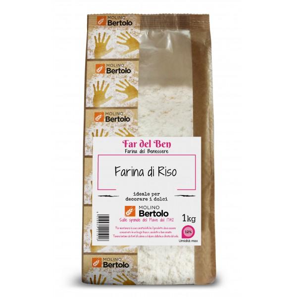 Molino Bertolo - Farina di Riso - 1 Kg