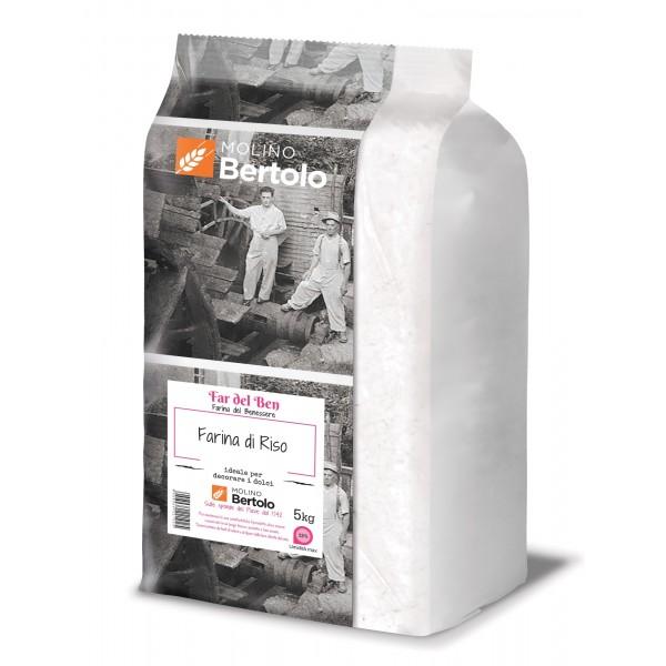 Molino Bertolo - Farina di Riso - 5 Kg