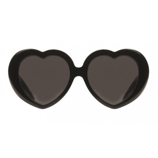 Balenciaga - Susi Heart Sunglasses - Black - Sunglasses - Balenciaga Eyewear