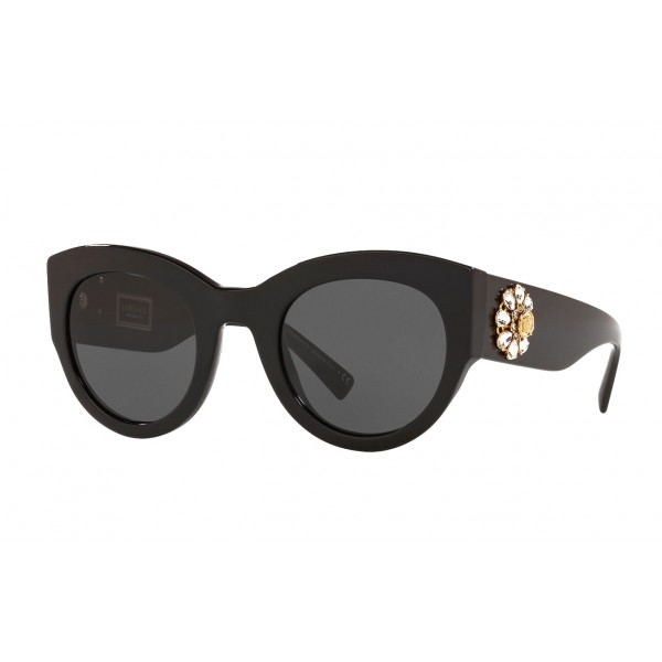 Versace - Occhiale da Sole Versace Tribute Jewel - Neri - Occhiali da Sole - Versace Eyewear