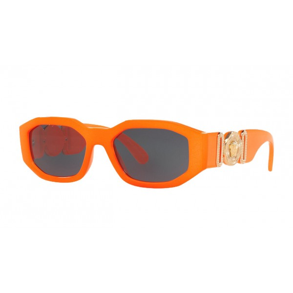 "Versace - Occhiale da Sole Medusa ""Biggie"" - Arancione Fluo Onul - Occhiali da Sole - Versace Eyewear"