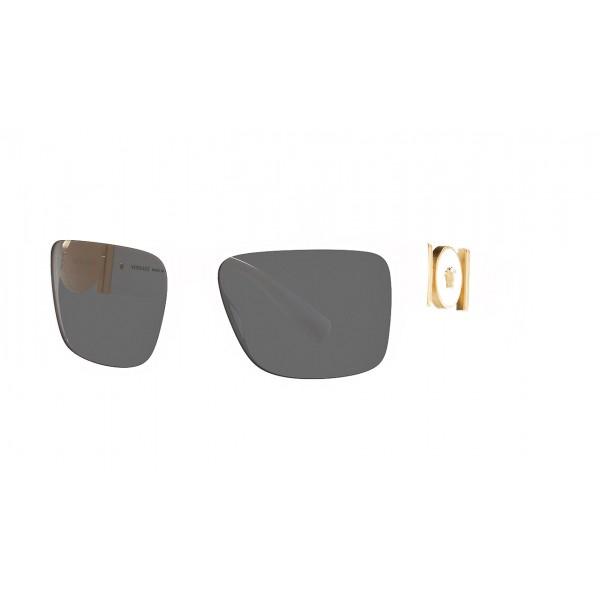 Versace - Occhiale da Sole Medusa Medallion - Bianco - Occhiali da Sole - Versace Eyewear