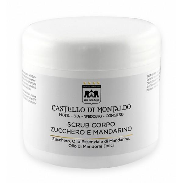 Castello di Montaldo - Scrub Corpo Zucchero e Mandarino - Cosmesi Professionale