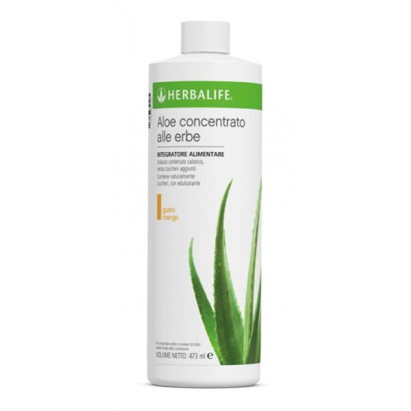 Herbalife Nutritions - Aloe Concentrato alle Erbe - Mango - Integratore Alimentare