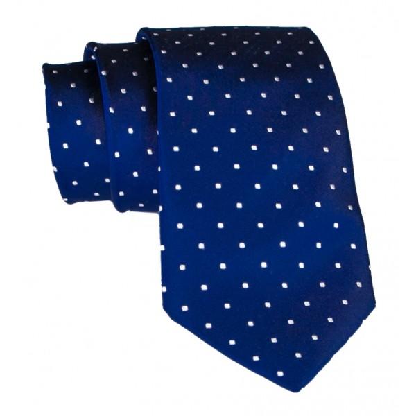 Cravates E.G. - Polka Dot Tie - Ultramarine
