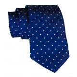 Cravates E.G. - Cravatta a Pois - Blu Oltremare