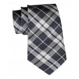 Cravates E.G. - Cravatta Tartan - Grigio
