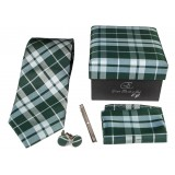 Cravates E.G. - Tartan Tie - Green
