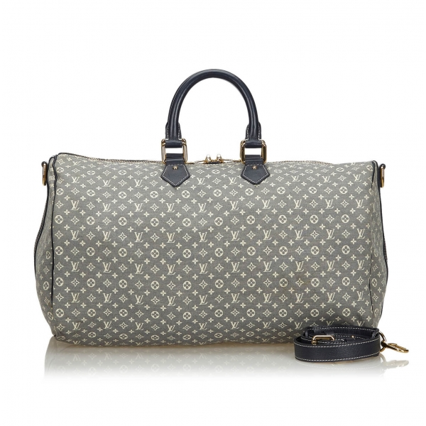 Louis Vuitton Vintage - Monogram Idylle Speedy Voyage 45 Bag - Grey - Monogram Leather Handbag - Luxury High Quality