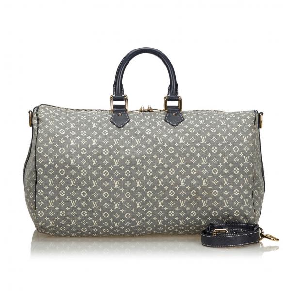 Louis Vuitton Vintage - Monogram Idylle Speedy Voyage 45 Bag - Grigio - Borsa in Pelle Monogram - Alta Qualità Luxury