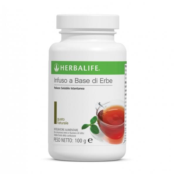Herbalife Nutrition - Infuso a Base di Erbe - Gusto Naturale - Tè Verde - Integratore Alimentare - 100 g