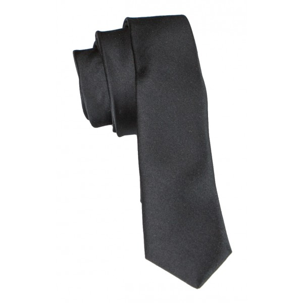 Cravates E.G. - Slim Tie - Black Ink