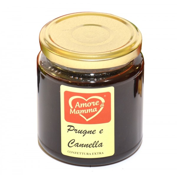 Al Palazzino - Amore di Mamma - Extra Jam of Italian Plums and Cinnamon
