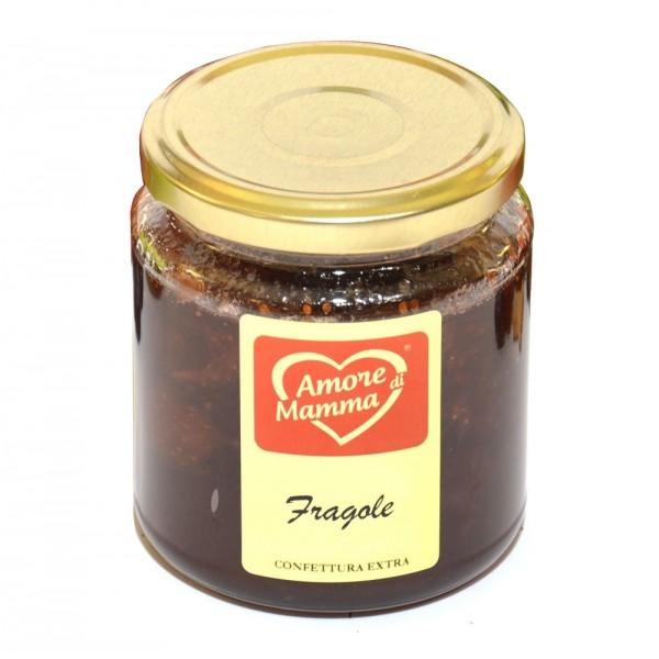 Al Palazzino - Amore di Mamma - Extra Jam of Italian Strawberries