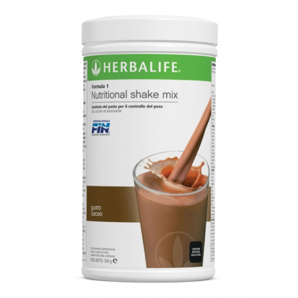 Herbalife Nutrition - Herbalife Formula 1 Shake Meal Replacement - Chocolate - Food Supplement