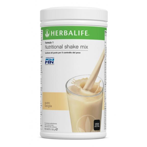 Herbalife Nutrition - Formula 1 Sostituto del Pasto - Vaniglia - Integratore Alimentare
