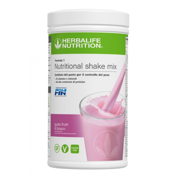 Herbalife Nutrition - Herbalife Formula 1 Shake Meal Replacement - Summer  Berries - Food Supplement