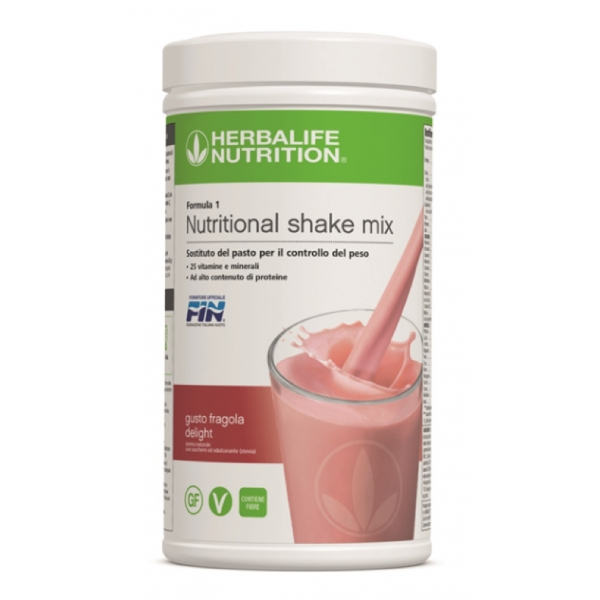 Herbalife Nutrition - Herbalife Formula 1 Shake Meal Replacement - Strawberry Delight - Food Supplement