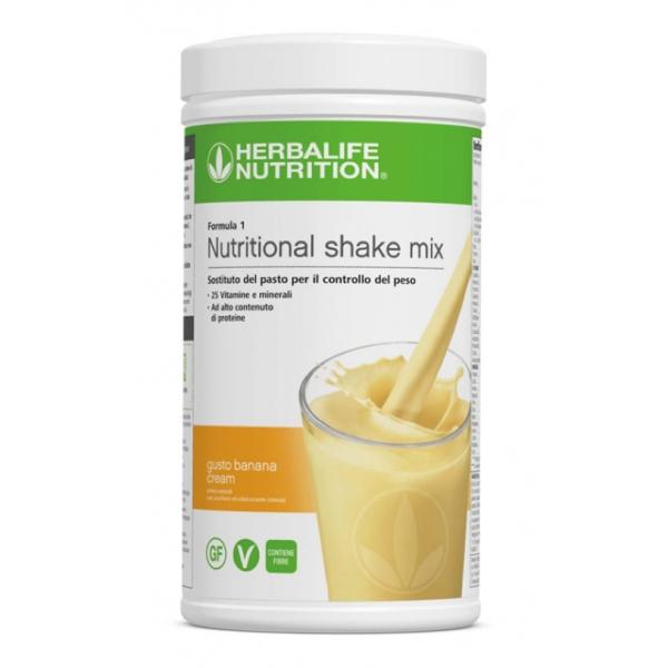 Herbalife Nutrition - Formula 1 Sostituto del Pasto - Banana Cream - Integratore Alimentare