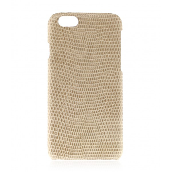 2 ME Style - Cover Lucertola Ivory Glossy - iPhone 8 / 7 - Cover in Pelle