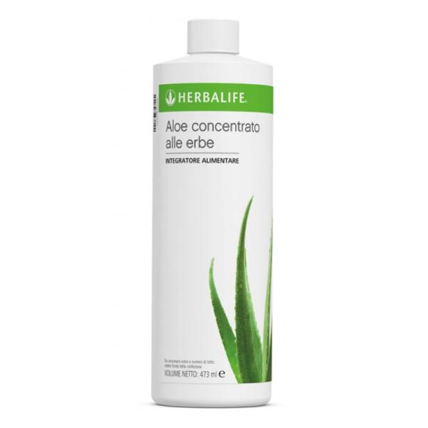 Herbalife Nutrition - Aloe Concentrato alle Erbe - Gusto Naturale - Integratore Alimentare