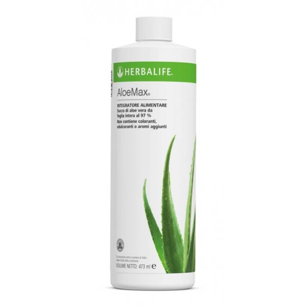Herbalife Nutrition - Aloe Max - Succo di Aloe Vera 97 % - Integratore Alimentare