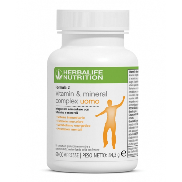 Herbalife Nutrition - Formula 2 - Vitamin & Mineral Complex Men's - Food