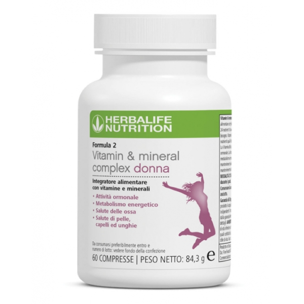 Herbalife Nutrition - Formula 2 - Vitamin & Mineral Complex Women - Food Suppment