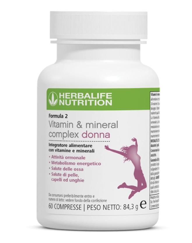 Herbalife Nutrition Formula 2 Vitamin Mineral Complex Women Food Suppment Avvenice