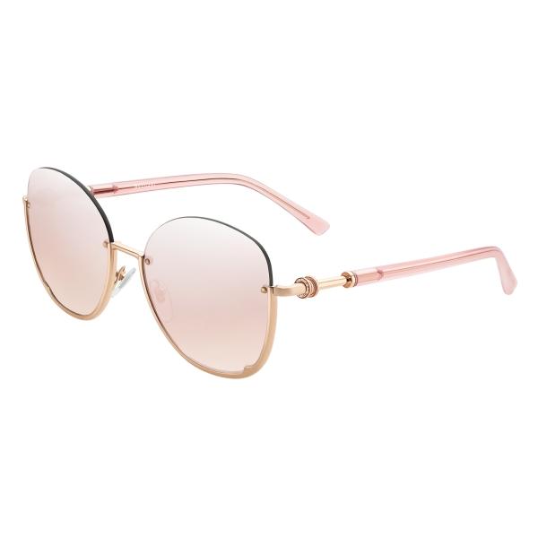 Bulgari - B.ZERO1 - Occhiali da Sole Semicerchiati B.Zero - Oro Rosa - B.ZERO1 Collection - Bulgari Eyewear