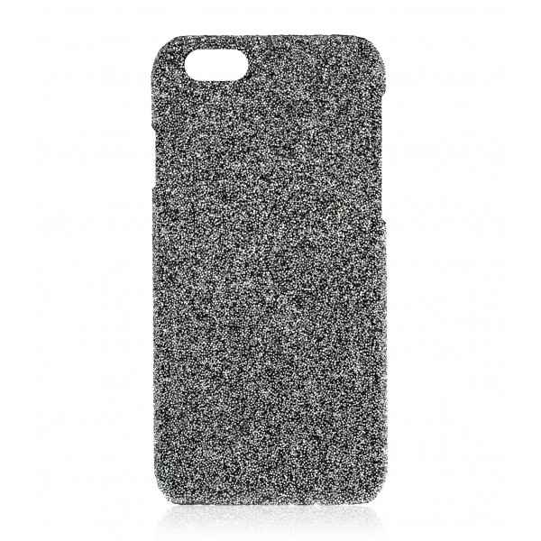 2 ME Style - Cover Crystal Fabric Argento - iPhone 8 / 7 - Crystal Cover