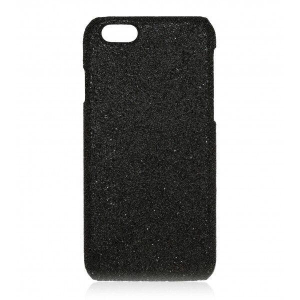 2 ME Style - Case Crystal Fabric Black - iPhone 8 / 7 - Crystal Cover