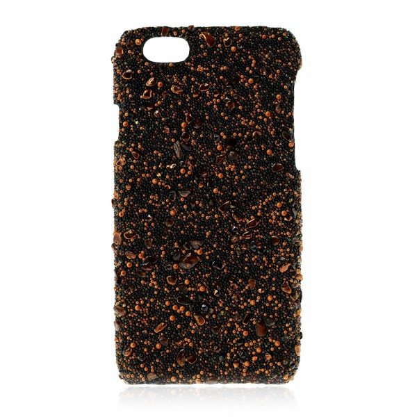 2 ME Style - Cover Crystal Stone Tigereye - iPhone 8 / 7 - Cover in Pietre e Cristalli
