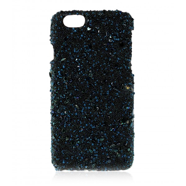 2 ME Style - Cover Crystal Stone Sapphire - iPhone 8 / 7 - Cover in Pietre e Cristalli