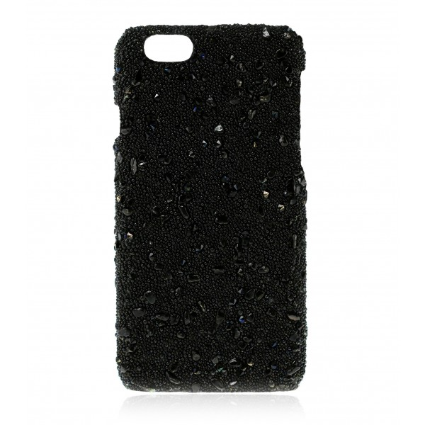 2 ME Style - Cover Crystal Stone Ematite - iPhone 8 / 7 - Cover in Pietre e Cristalli