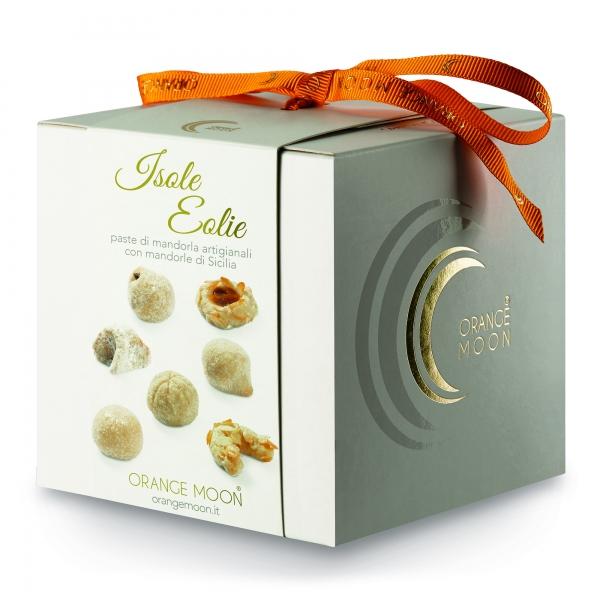 Orange Moon - Isole Eolie - Paste di Mandorla Artigianali - Fine Pasticceria Handmade in Sicily