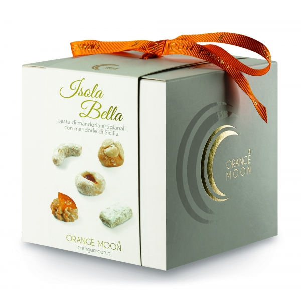 Orange Moon - Isola Bella - Handmade Almond Pastries - Fine Pastry Handmade in Sicily