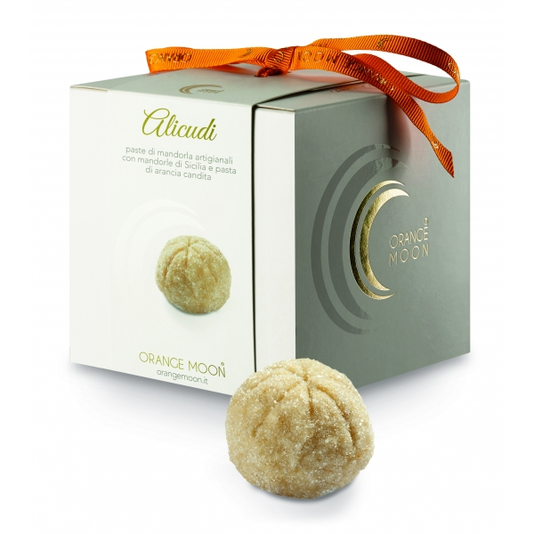 Orange Moon - Alicudi - Handmade Almond Pastries - Fine Pastry Handmade in Sicily