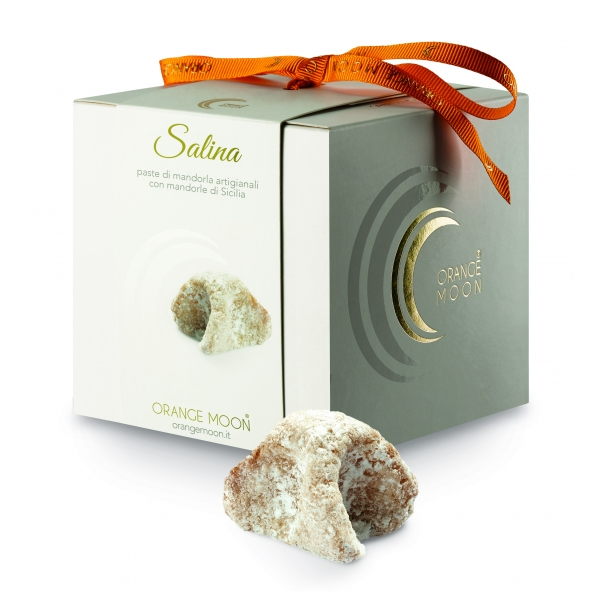 Orange Moon - Salina - Handmade Almond Pastries - Fine Pastry Handmade in Sicily