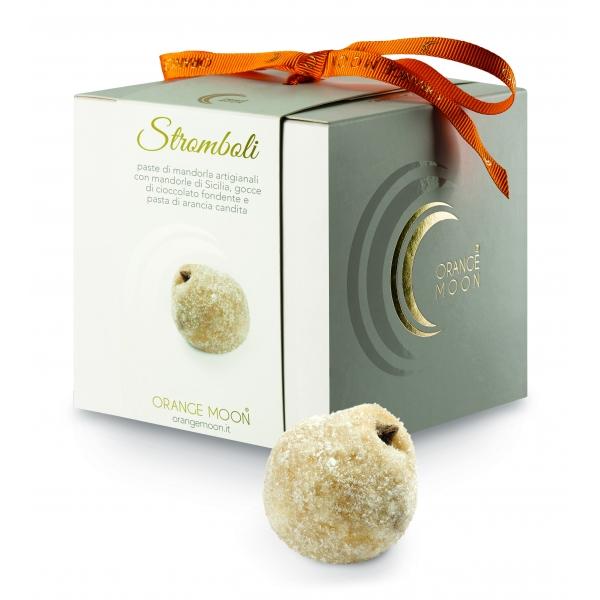 Orange Moon - Stromboli - Paste di Mandorla Artigianali - Fine Pasticceria Handmade in Sicily