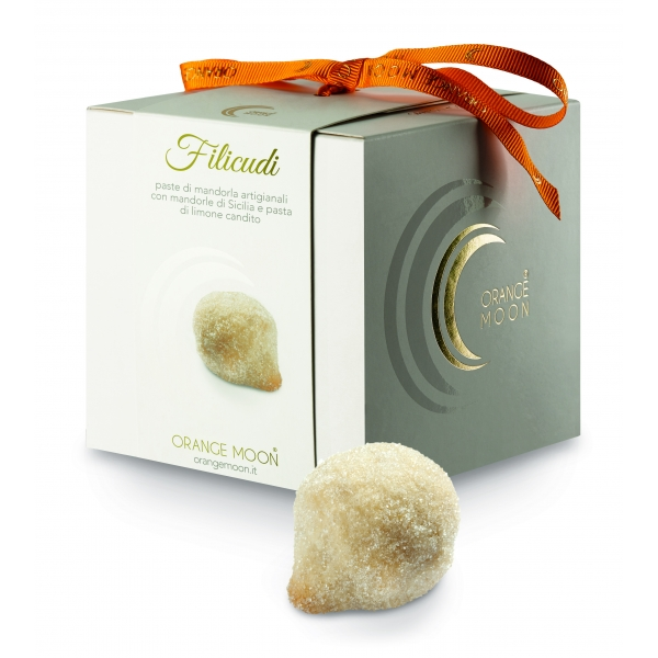 Orange Moon - Filicudi - Handmade Almond Pastries - Fine Pastry Handmade in Sicily