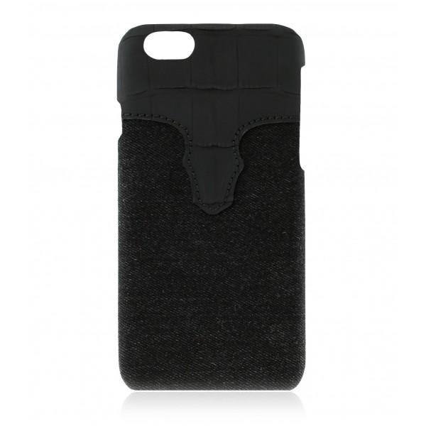 2 ME Style - Cover Rebel Buttero - iPhone 8 / 7 - Cover in Pelle e Denim