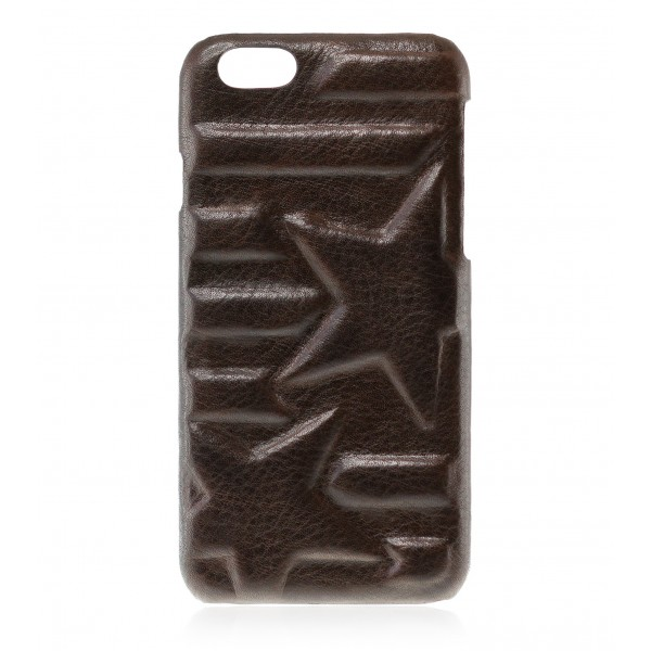 2 ME Style - Case Rebel Star Biker - iPhone 8 / 7 - Leather Cover