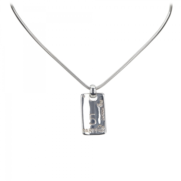 Chanel Vintage - Silver-Tone Necklace 18K - Silver - Necklace Chanel - Luxury High Quality