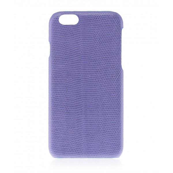 2 ME Style - Cover Lucertola Bluette Glossy - iPhone 8 Plus / 7 Plus - Cover in Pelle