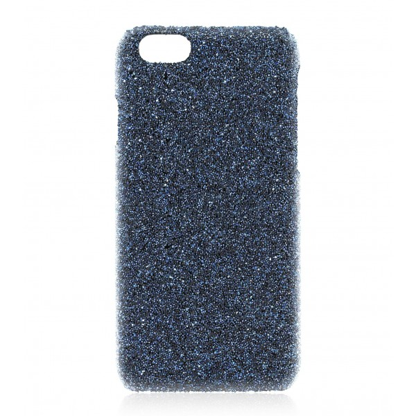 2 ME Style - Case Crystal Fabric Moonlight Blue - iPhone 8 Plus / 7 Plus - Crystal Cover