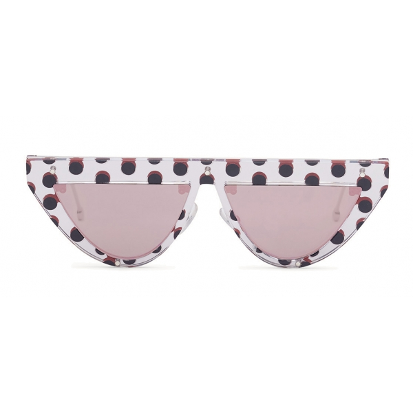 Fendi - DeFender - Flat Top Sunglasses - Pois - Sunglasses - Fendi Eyewear