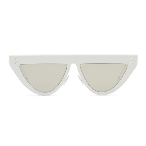 Fendi - DeFender - Flat Top Sunglasses - White - Sunglasses - Fendi Eyewear